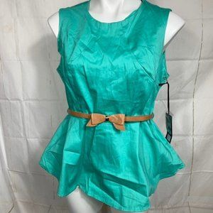 Ali & Kris XL Belted Top NWT